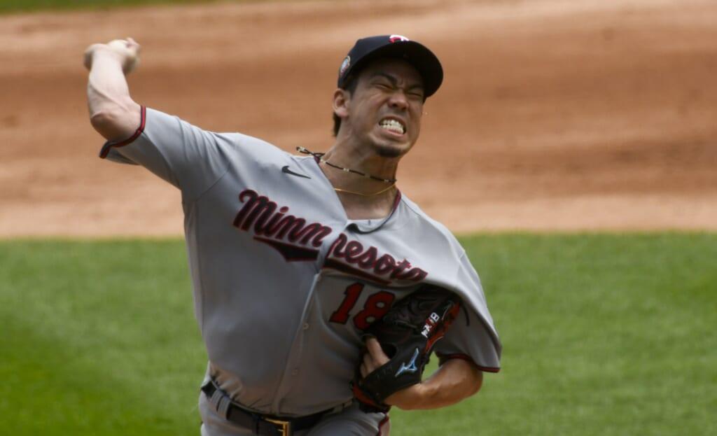 Minnesota Twins pitcher Kenta Maeda