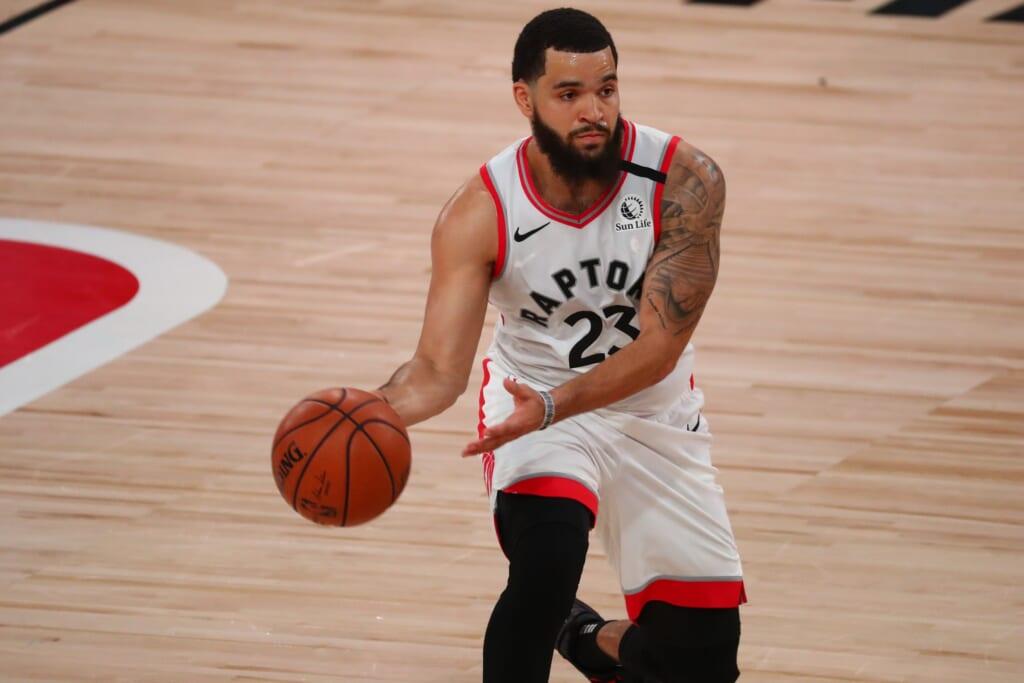 Toronto Raptors point guard Fred VanVleet