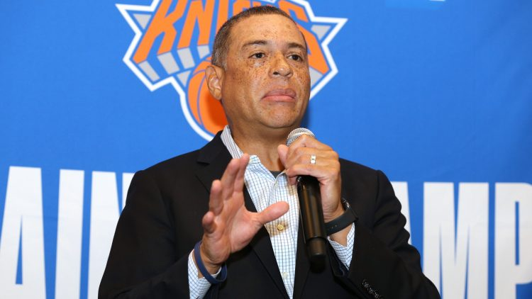 New York Knicks general manager Scott Perry