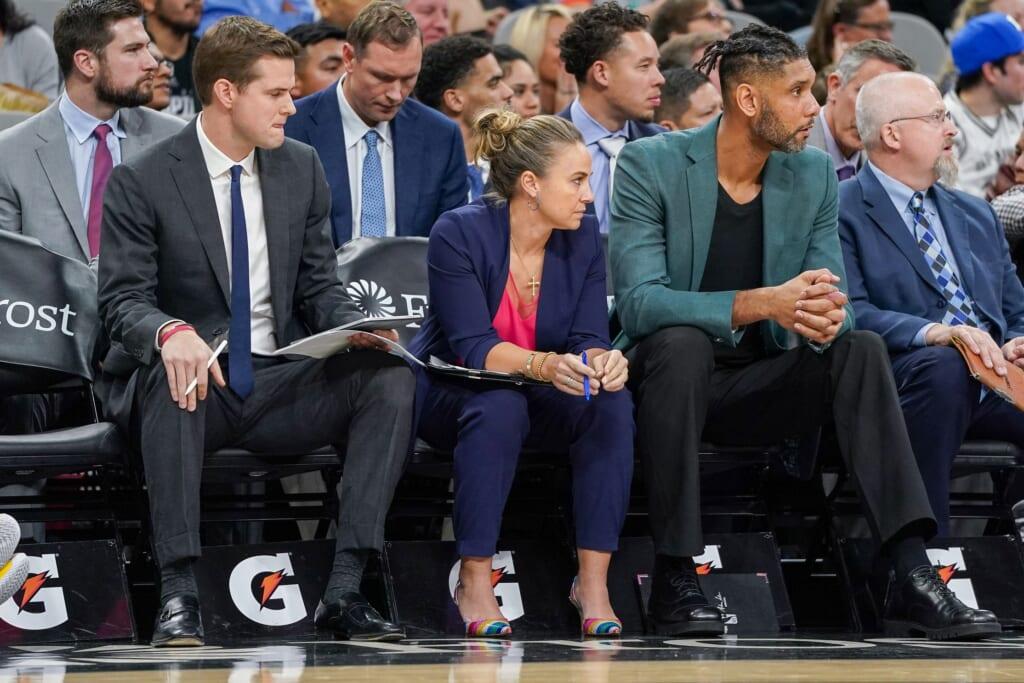 San Antonio Spurs news: Tim Duncan, Becky Hammon
