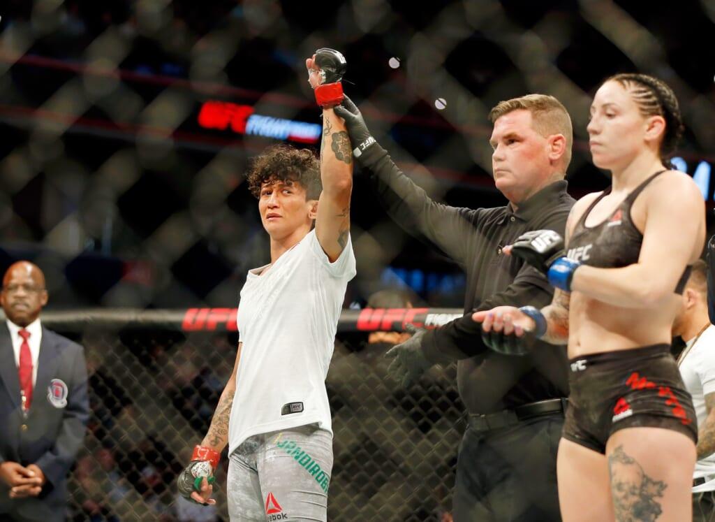 UFC 252 results: Virna Jandiroba spoils Felice Herrigs return