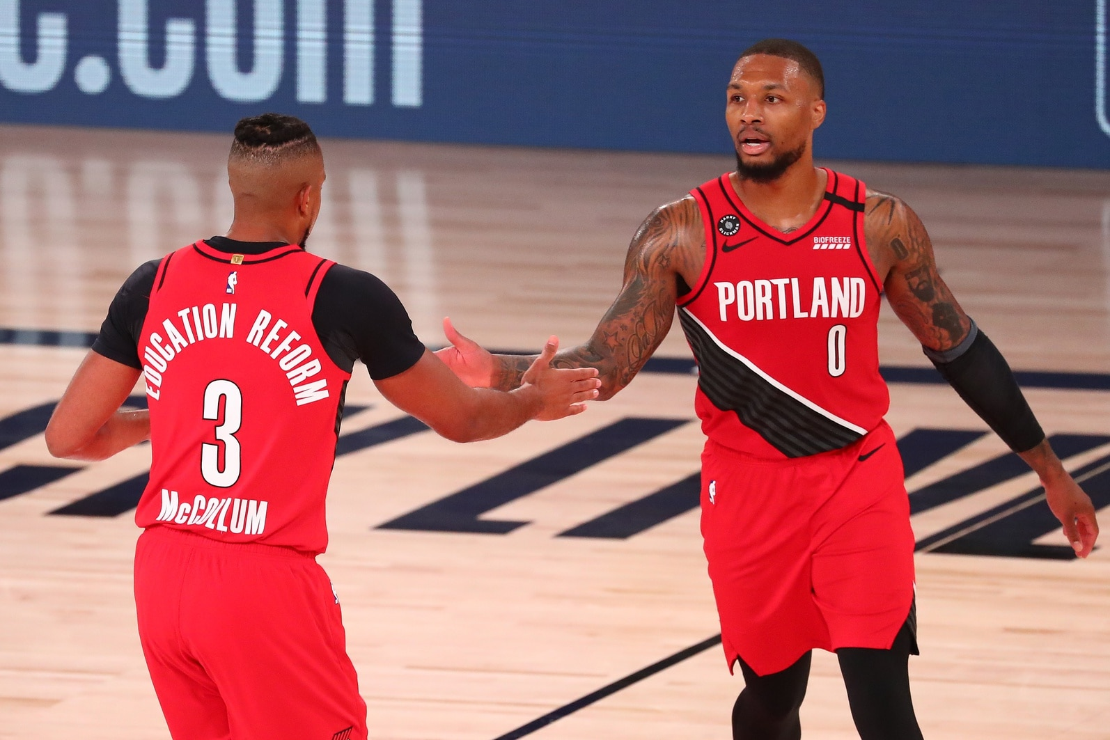 Damian Lillard Out For Game 5 Vs Lakers Could Be End Of An Era With The Blazers