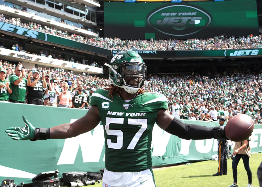 Jets linebacker C.J. Mosley