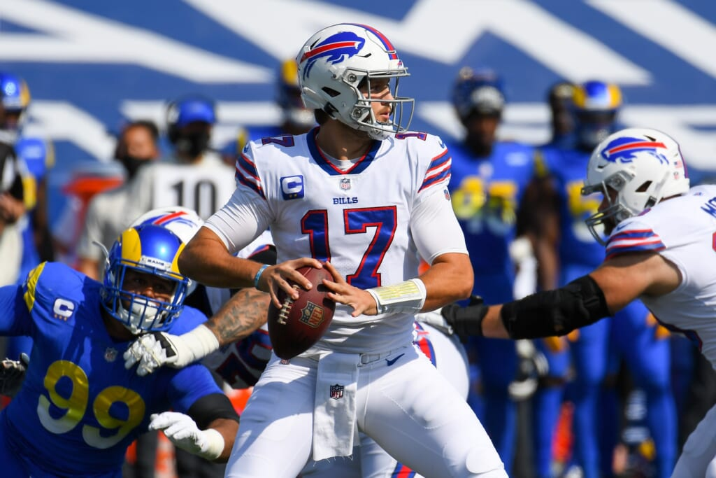 NFL Playoff Predictions: Buffalo Bills QB Josh Allen dominated in Week 3 win over Los Angeles Rams