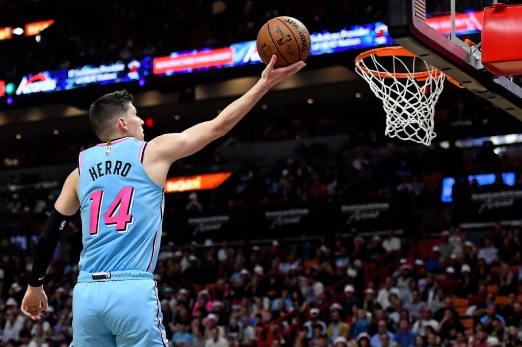 Miami Heat guard Tyler Herro