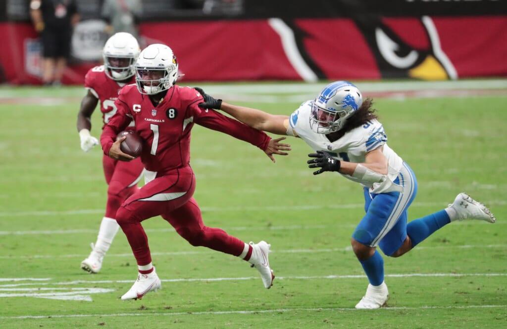 Arizona Cardinals quarterback Kyler Murray in Week 3