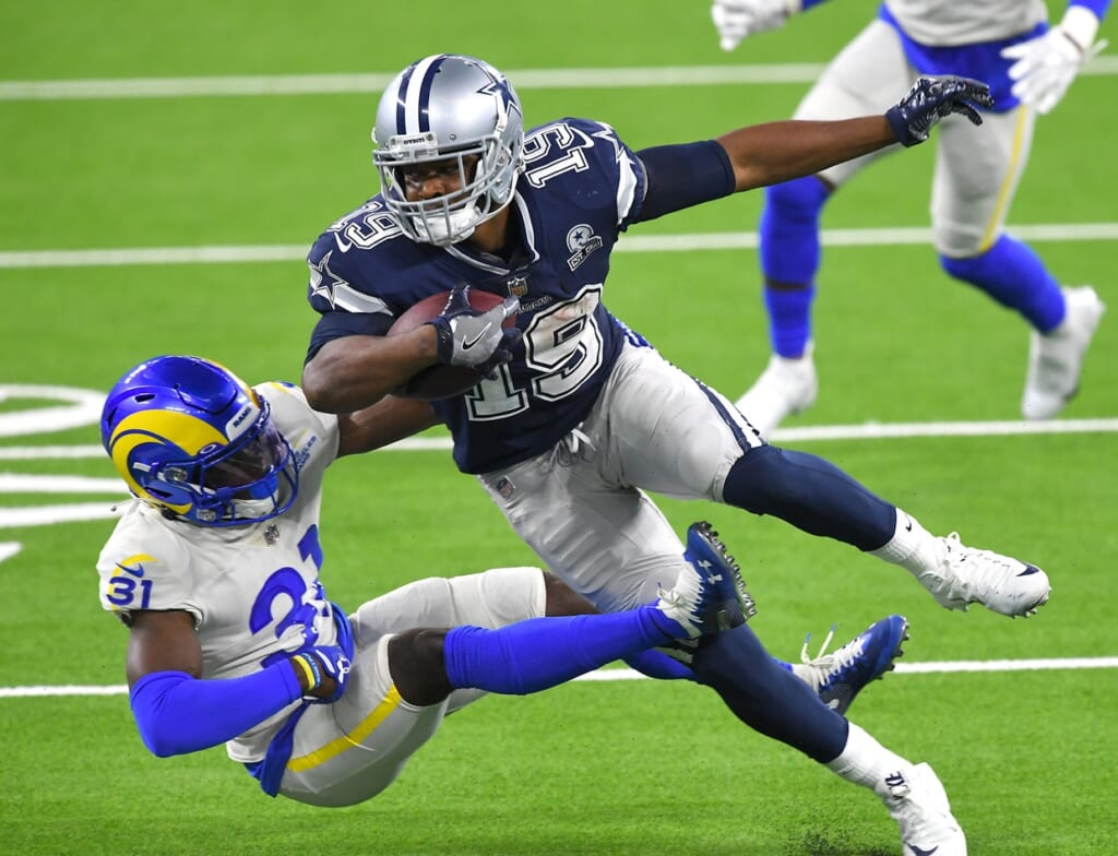 Dallas Cowboys wide receiver Amari Cooper entered Week 2 on the injury report