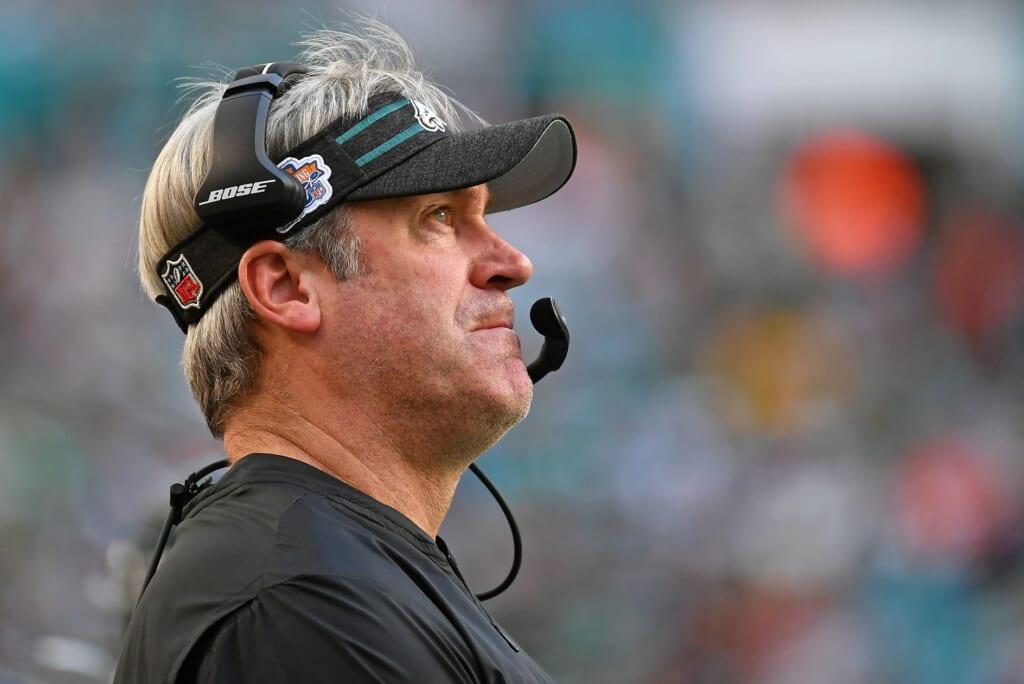Could the Philadelphia Eagles fire head coach Doug Pederson?