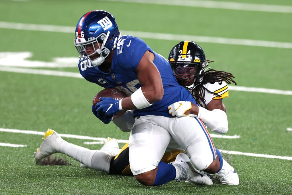 NFL trades: Players who could be wearing new uniforms in 2021 - Saquon Barkley