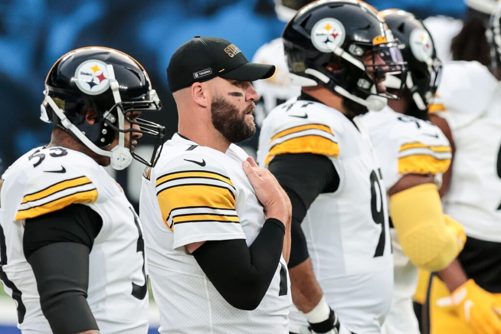 Could Pittsburgh Steelers quarterback Ben Roethlisberger miss Week 10?
