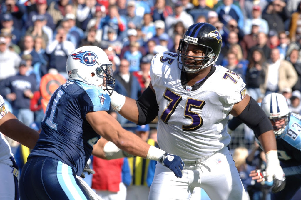 Baltimore Ravens vs Tennessee Titans - November 12, 2006
