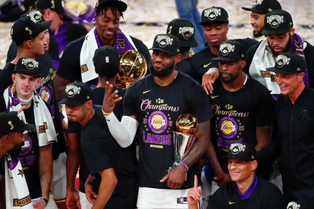 Los Angeles Lakers winning first title in a decade