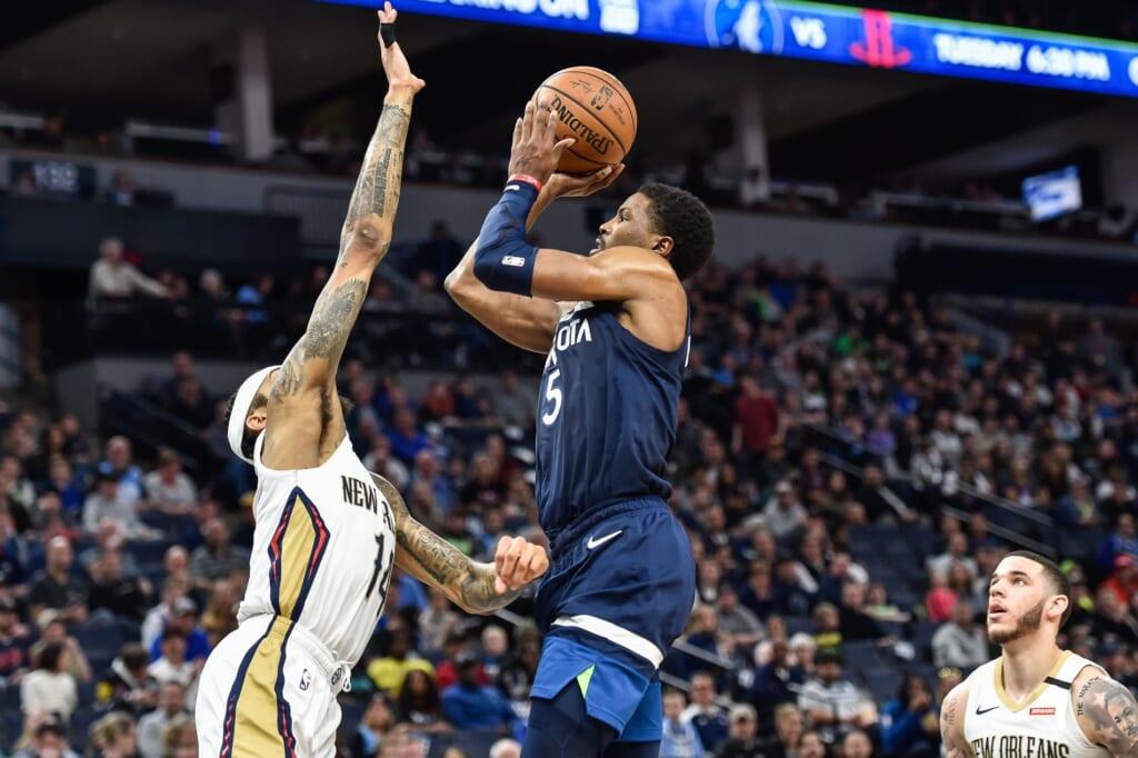 Minnesota Timberwolves guard Malik Beasley