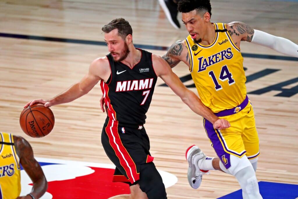 Miami Heat guard Goran Dragic during NBA Finals
