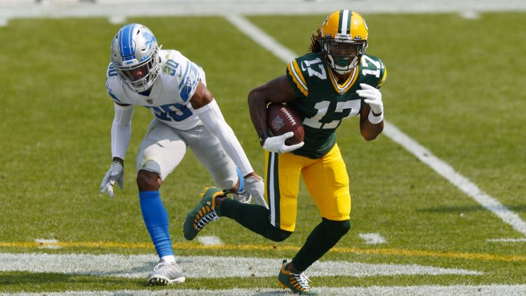 Green Bay Packers WR Davante Adams is on the injury report for Week 4