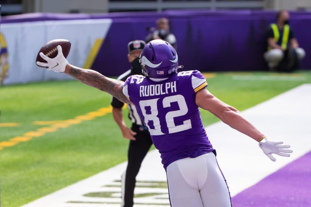 Minnesota Vikings TE Kyle Rudolph