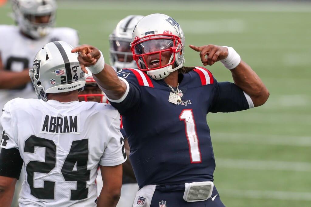 Patriots rumors: Cam Newton