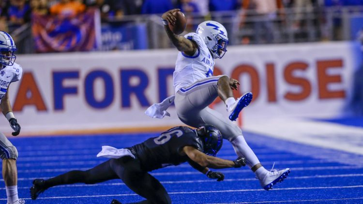 Boise State against Air Force Mountain West