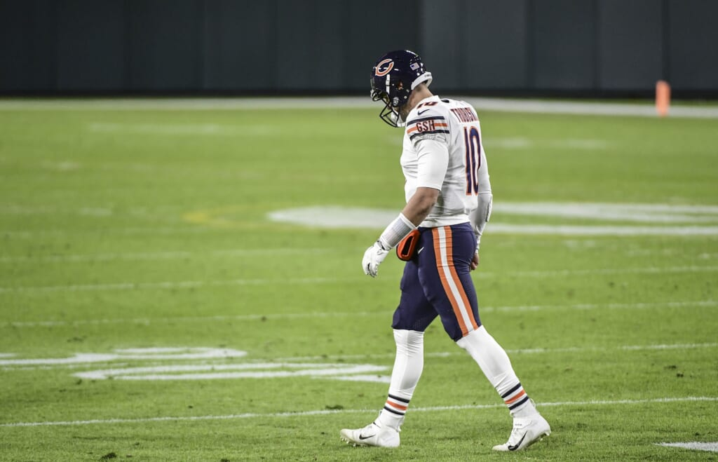 Could Mitchell Trubisky leave the Bears during NFL free agency?