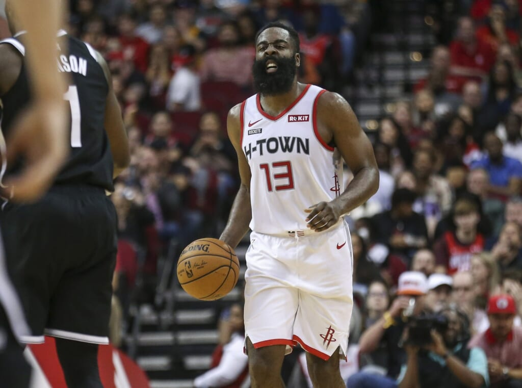 NBA rumors: James Harden, Kyrie Irving trade
