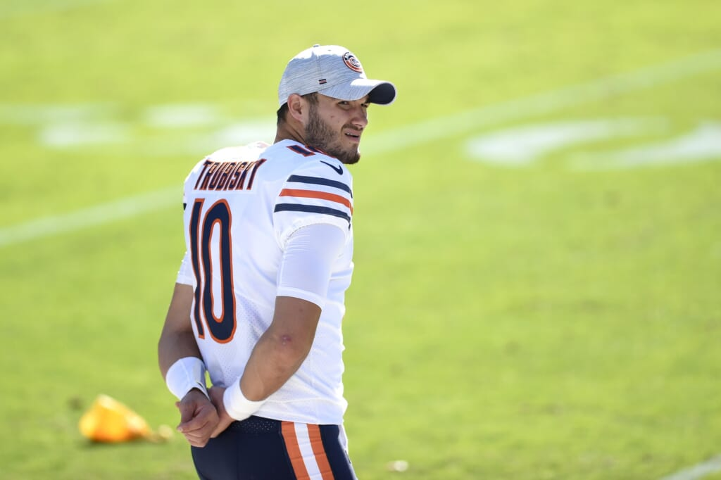 MItch Trubisky's struggles mean he has nothing to lose