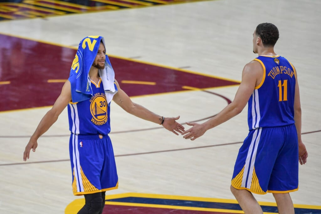 Stephen Curry contract, Klay Thompson
