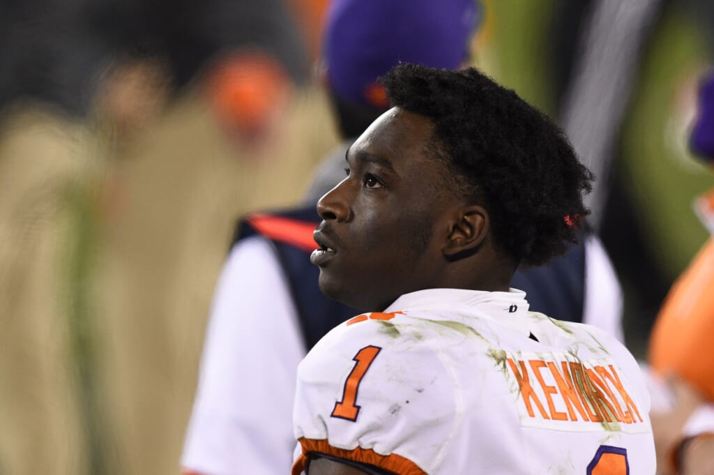 College Football Playoff: Derion Kendrick: 2021 NFL Draft