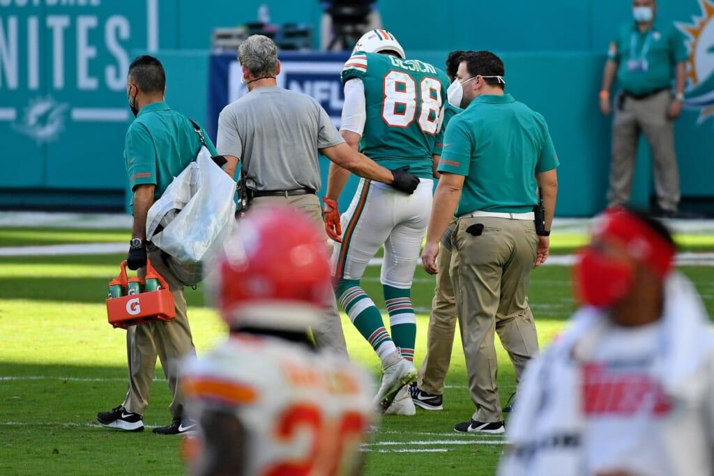 NFL injury news: Mike Gesicki