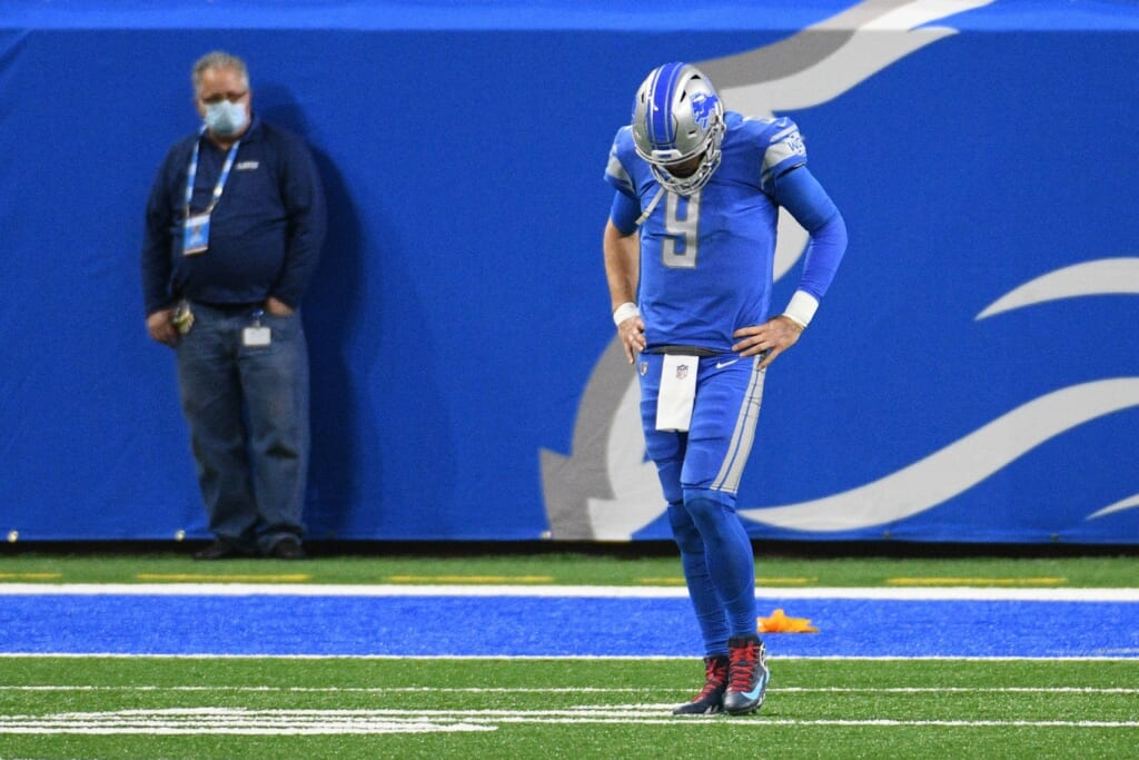 NFL injury report: Week 15: Matthew Stafford