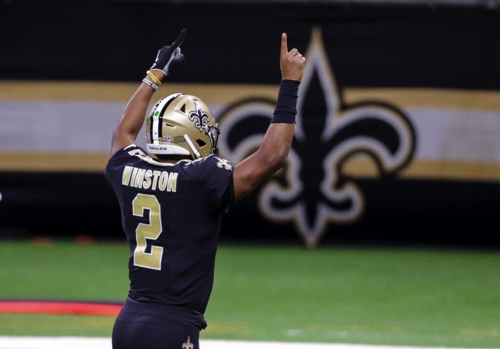 New Orleans Saints quarterback