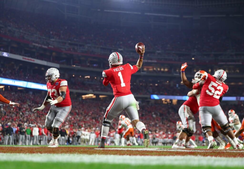 College Football Playoff: Justin Fields: 2021 NFL Draft
