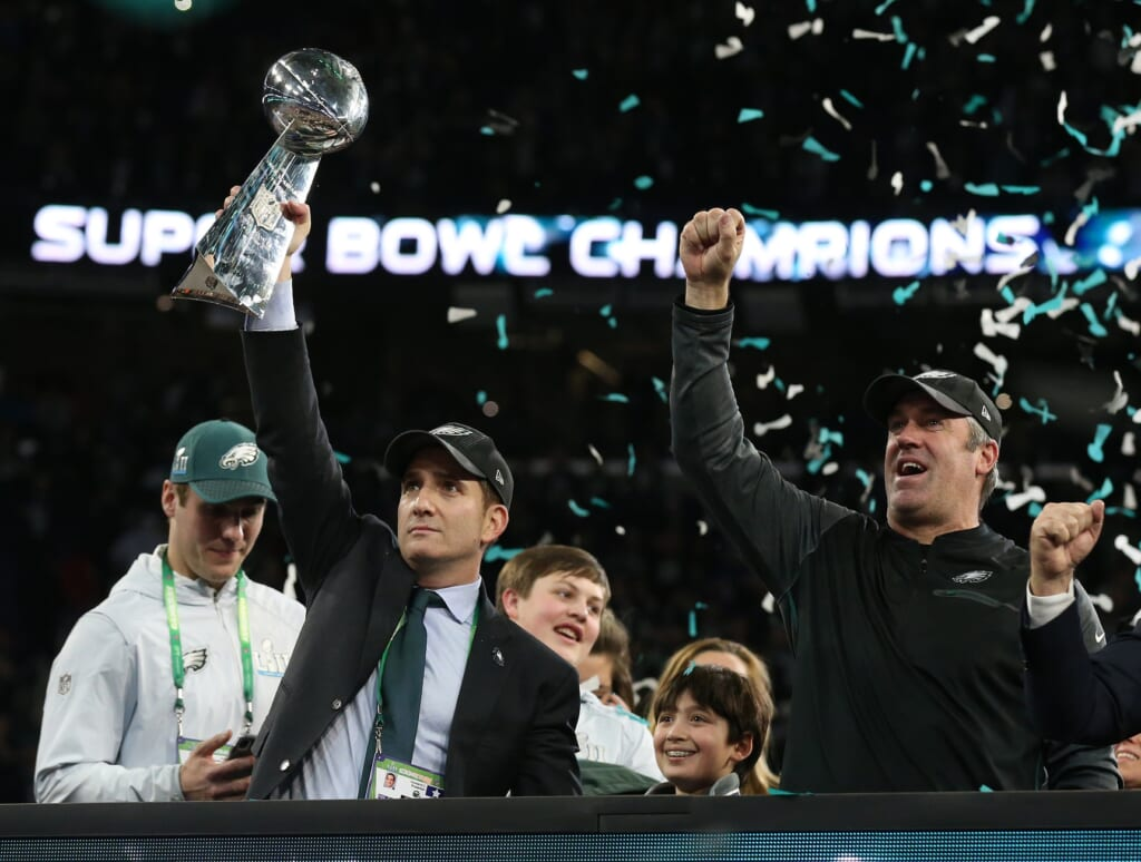 Will the Eagles fire both Howie Roseman and Doug Pederson?