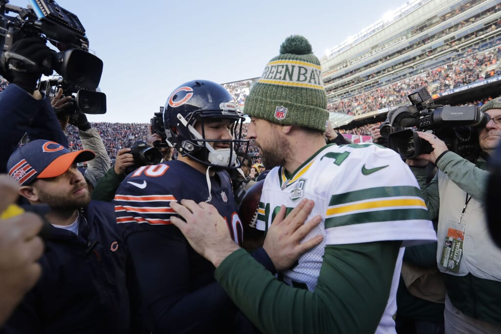 NFL Week 17: Bears-Packers, Aaron Rodgers