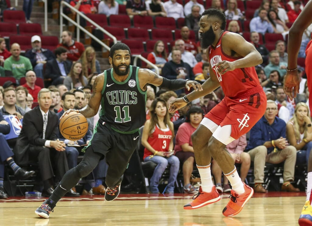 NBA rumors: James Harden-Kyrie Irving trade?