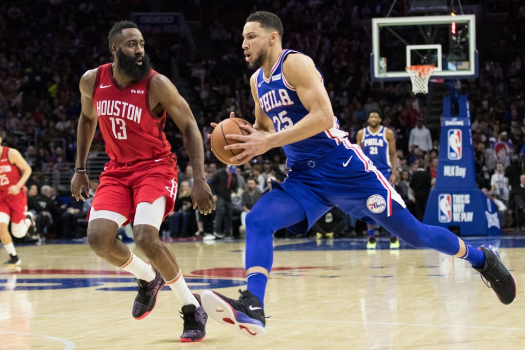 NBA rumors: James Harden trade for Ben Simmons, Rockets-Sixers trade