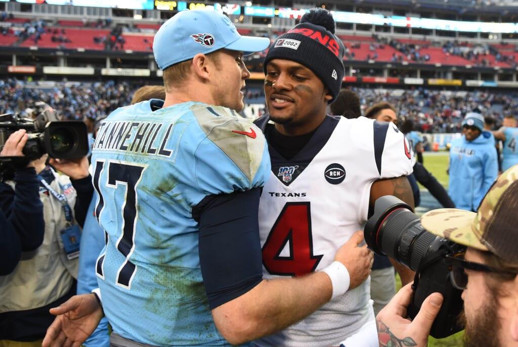 NFL Week 17: Titans-Texans, Deshaun Watson