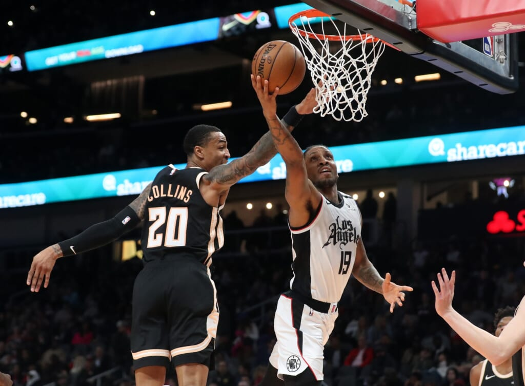 Clippers-Hawks, 2019-20 NBA season