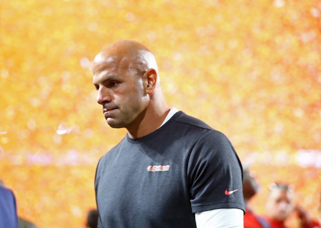 San Francisco 49ers coaches: Defensive coordinator Robert Saleh
