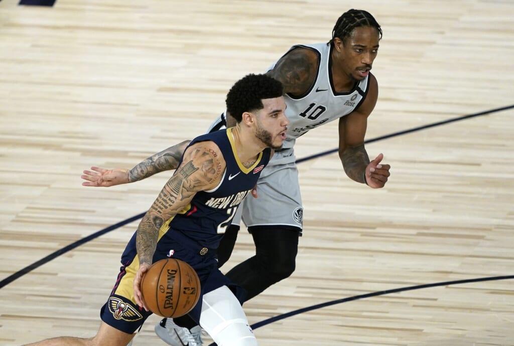 Lonzo Ball, 2020-21 NBA season