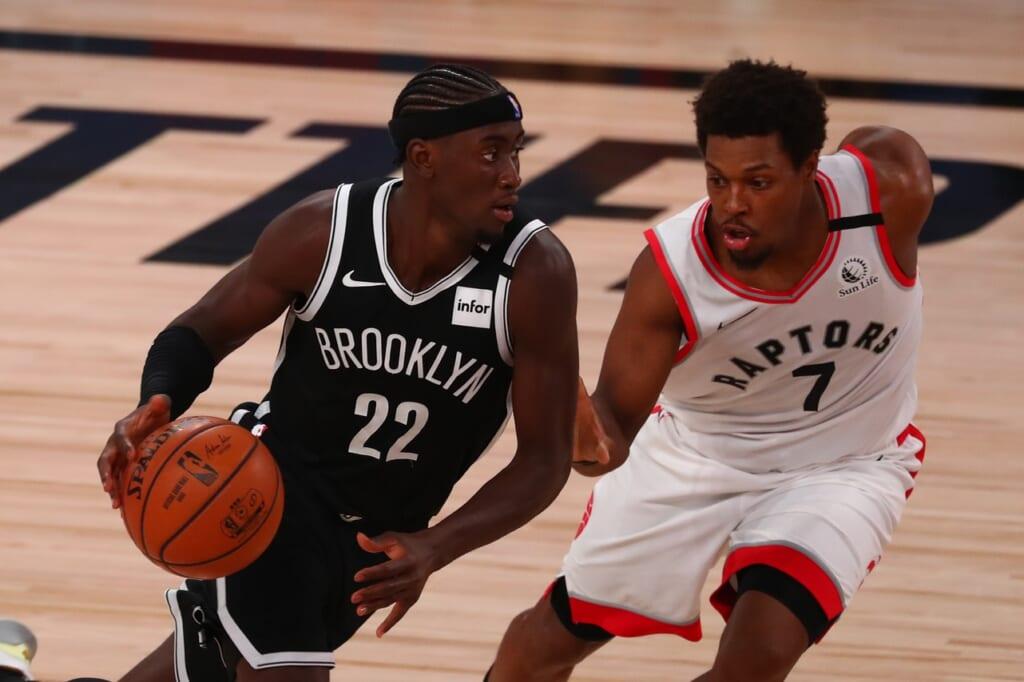 Brooklyn Nets and Golden State Warriors: Caris LeVert