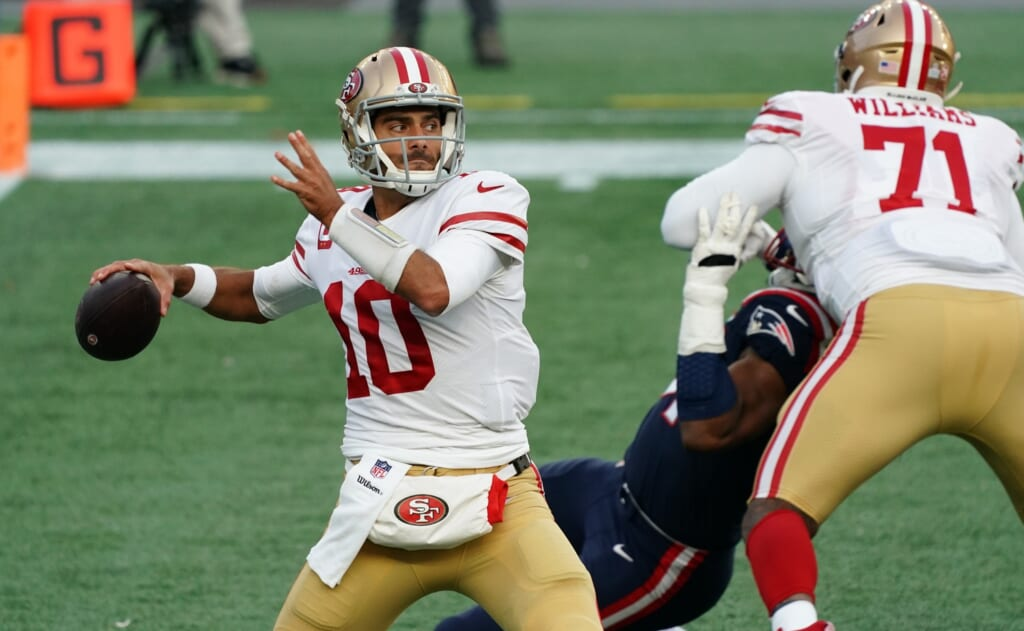 Jimmy Garoppolo trade would be involved in hypothetical Deshaun Watson trade to the 49ers
