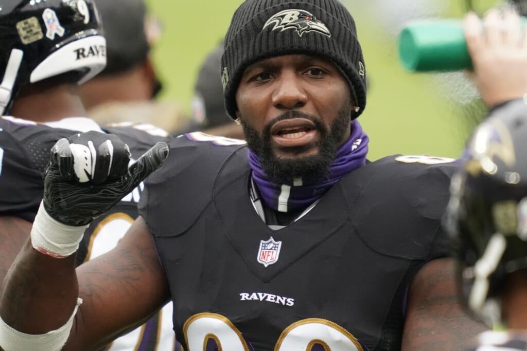 Ravens' Dez Bryant COVID-19
