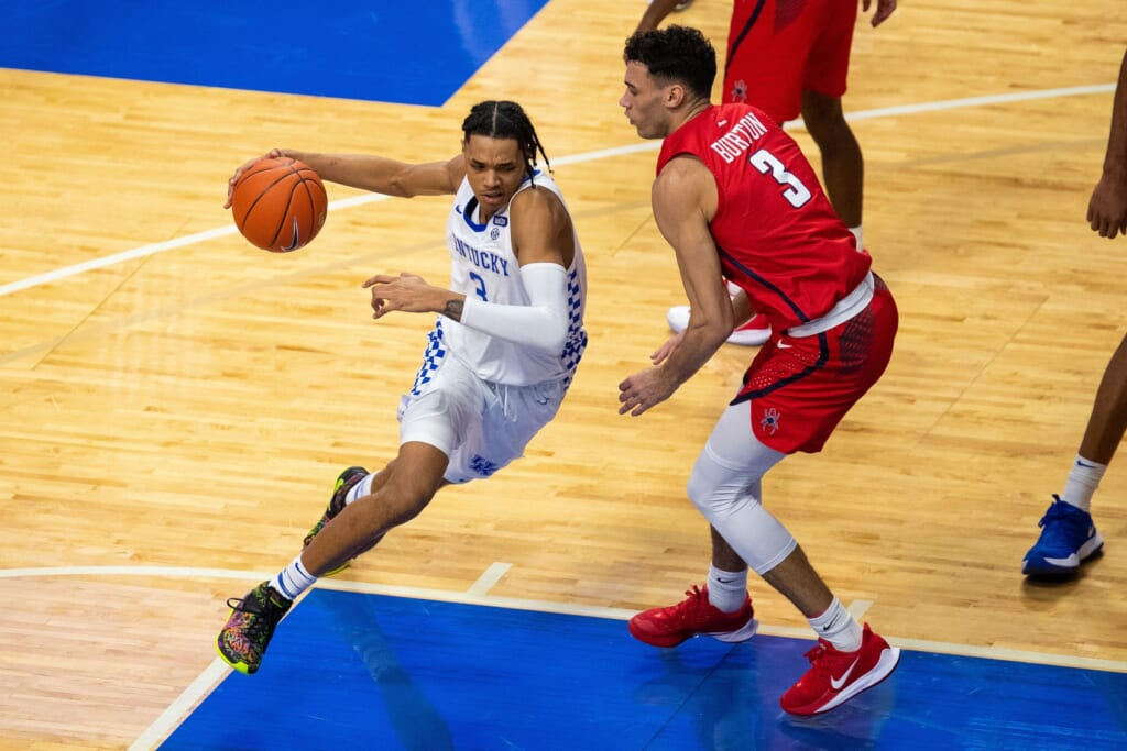 NBA Mock Draft: B.J. Boston, Kentucky