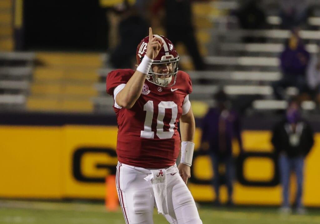 San Francisco 49ers mock draft: Alabama QB Mac Jones