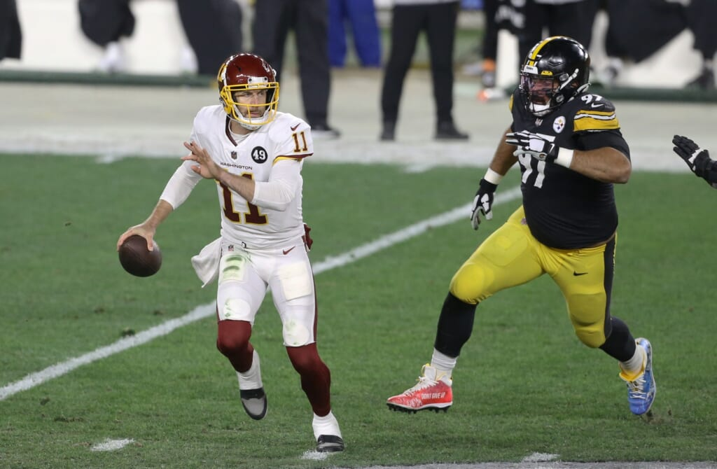 Washington and Alex Smith upset the Steelers