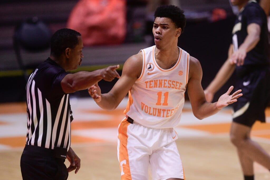 NBA Mock Draft: Jaden Springer, Tennessee