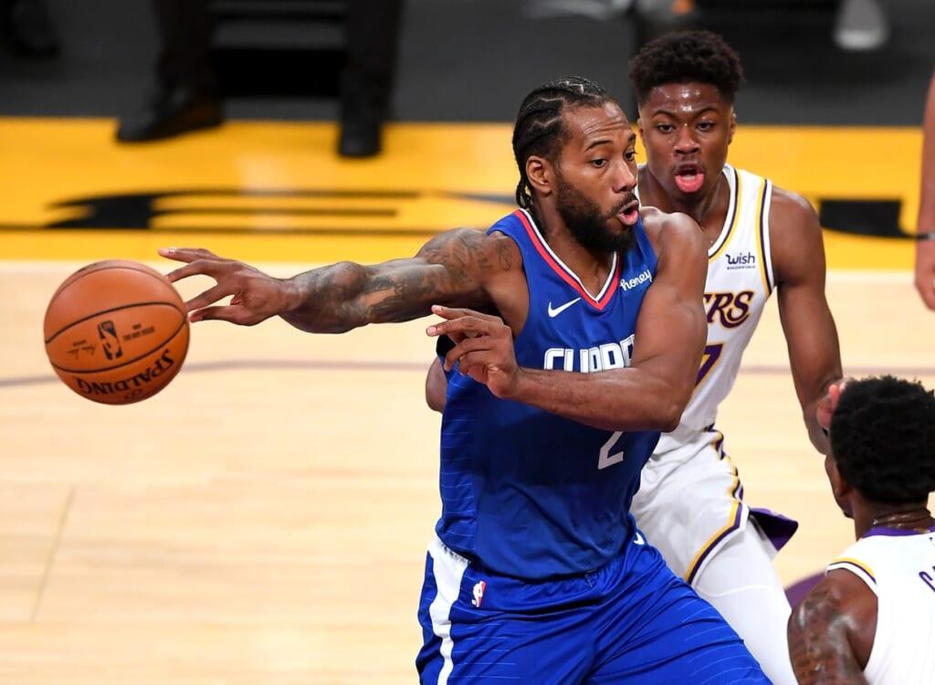 NBA MVP: Kawhi Leonard