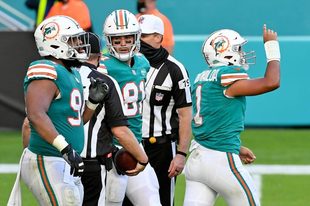 NFL Week 16: Dolphins-Raiders