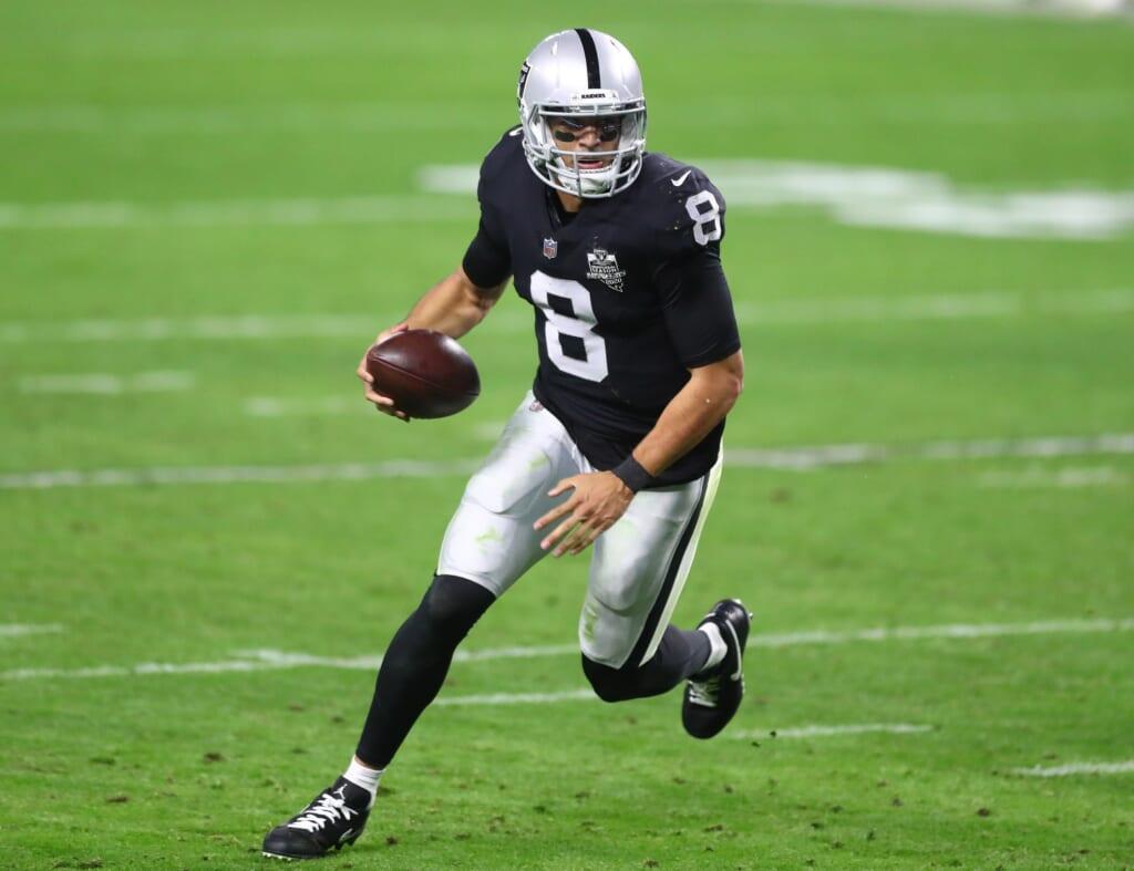 Raiders news: Marcus Mariota