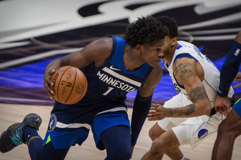 NBA Rookie of the Year: Anthony Edwards, Timberwolves